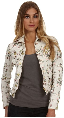 Vivienne Westwood Anglomania - New Icon Jacket (Ecru Floral) - Apparel