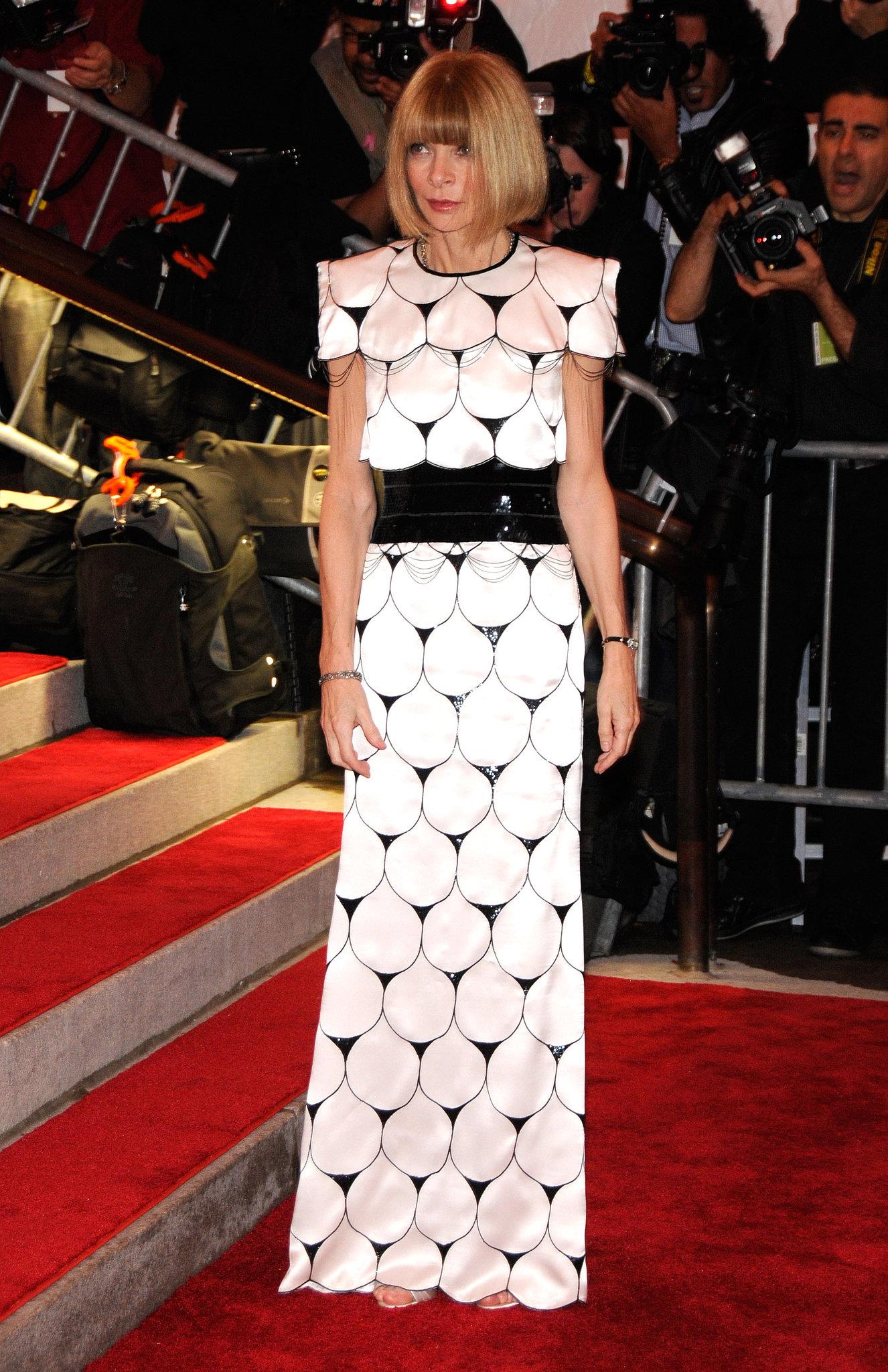 Anna Wintour's Met Gala Looks
