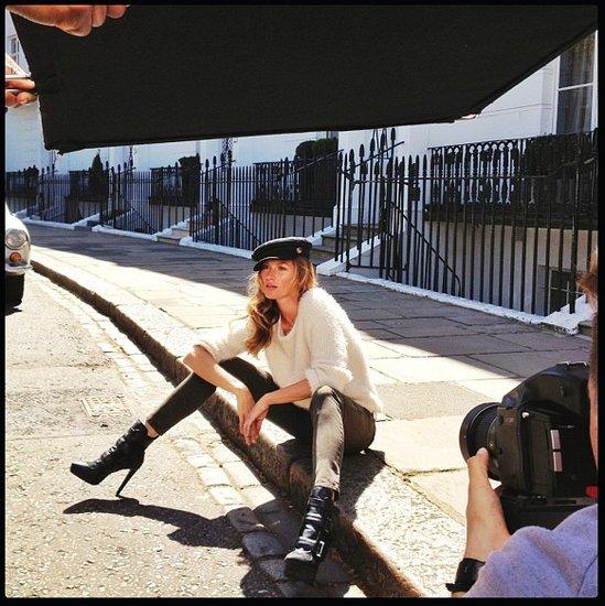 Gisele Bundchen in H&M Fall 2013 Ads
