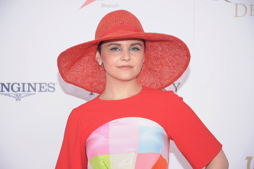 Ginnifer Goodwin matched her hat to the dress in 2012.