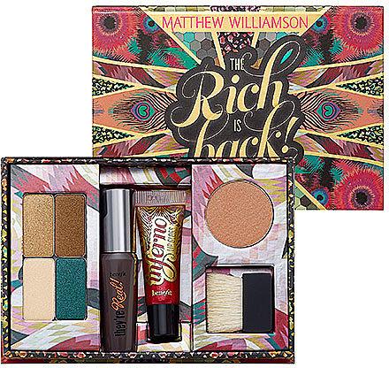 Benefit Cosmetics Matthew Williamson - The Rich Is Back!