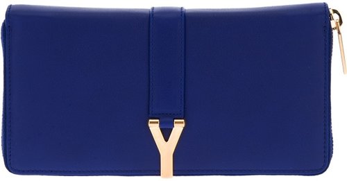 Yves Saint Laurent zip fastening wallet