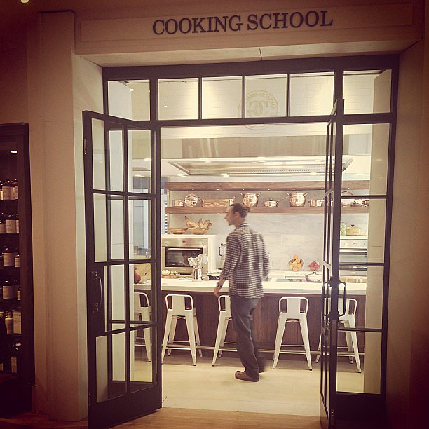 The new West Elm Cooking School in Bondi Junction. It's a homewares lover's delight, let us tell you.