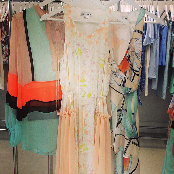 Aren't these pretty pastels a sight for sore eyes? Can always rely on Shona Joy to brighten up our day!