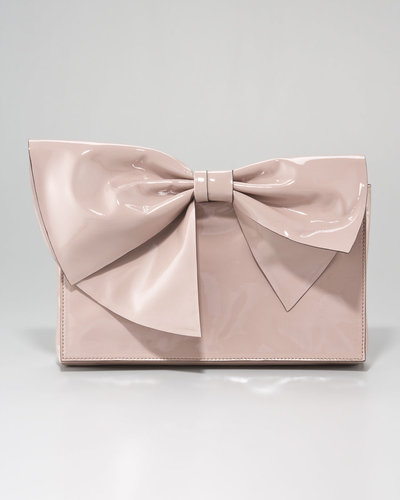 Valentino Lacca Bow Clutch Bag