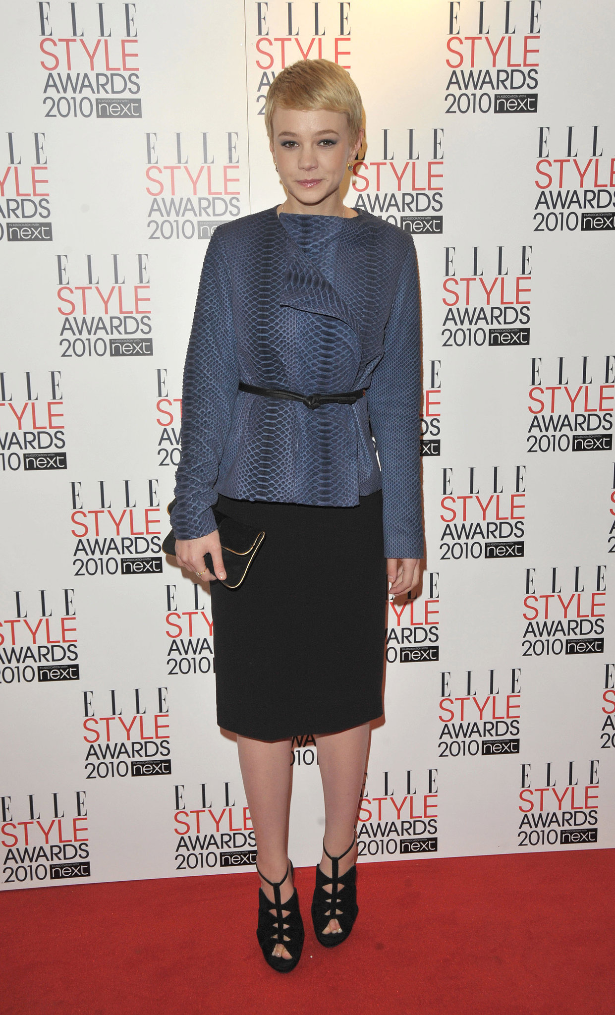 Carey Mulligan in The Row at the 2010 Elle Style Awards