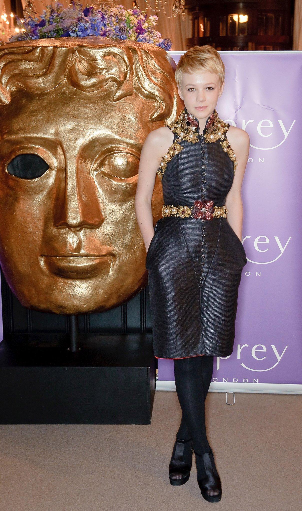 Carey Mulligan in Chanel at the 2010 Orange British Academy Film Awards