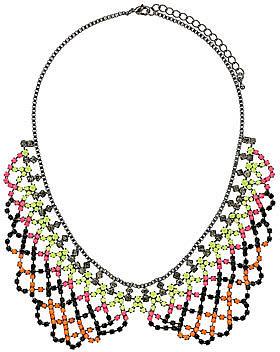 Pretty sparkle collar necklace