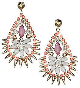 Spike chandelier earrings