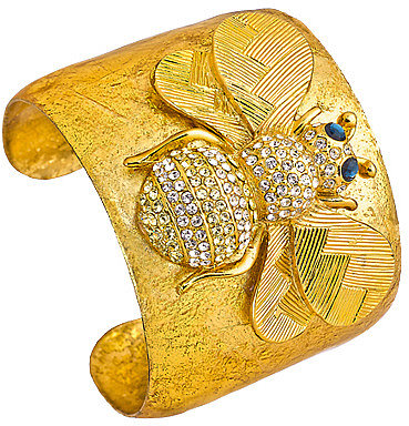 Evocateur Bumble Bee Cuff