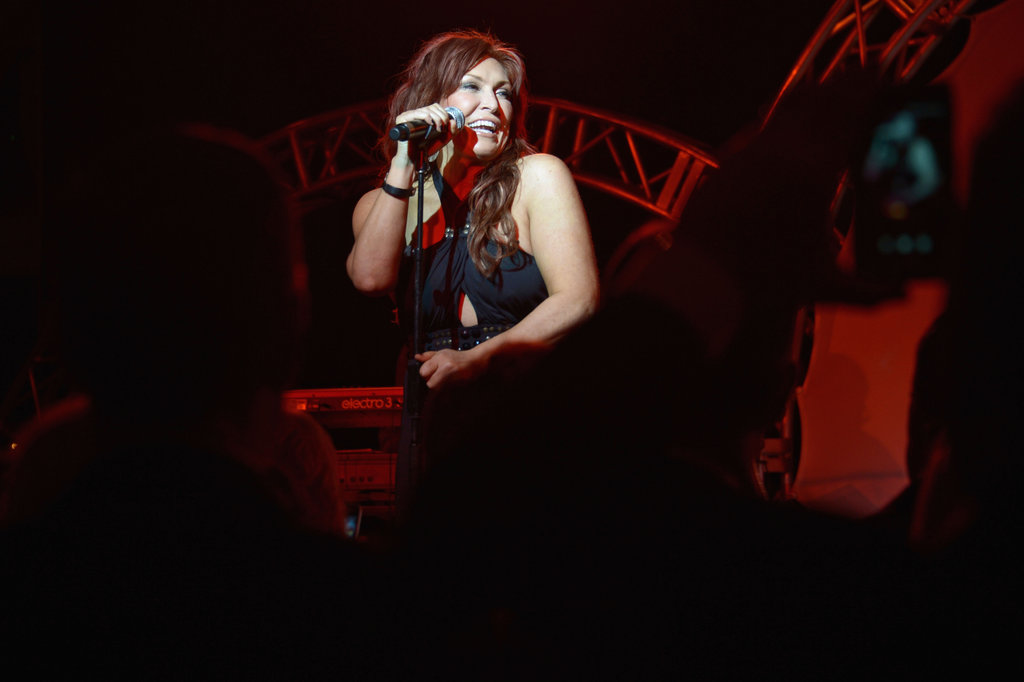 Jo Dee Messina performed at the Unbridled Eve Gala on Friday.