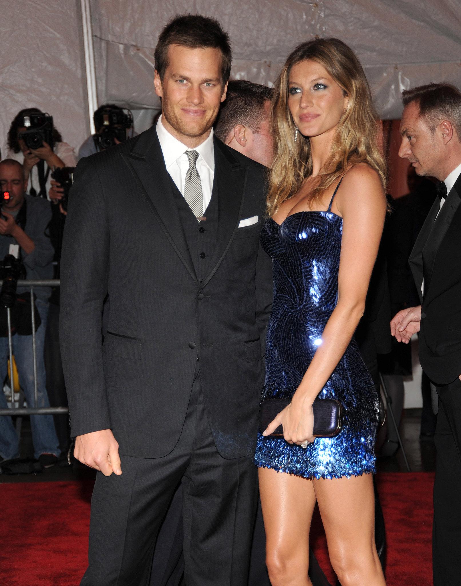 Tom Brady And Gisele Bundchen In 2009 Red Carpet Rewind