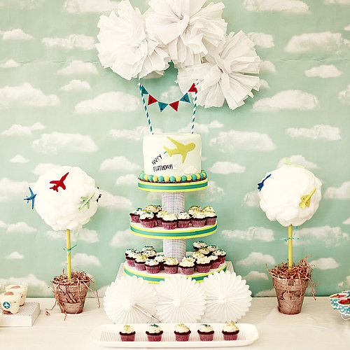 Airplane Birthday Party For a Little Boy