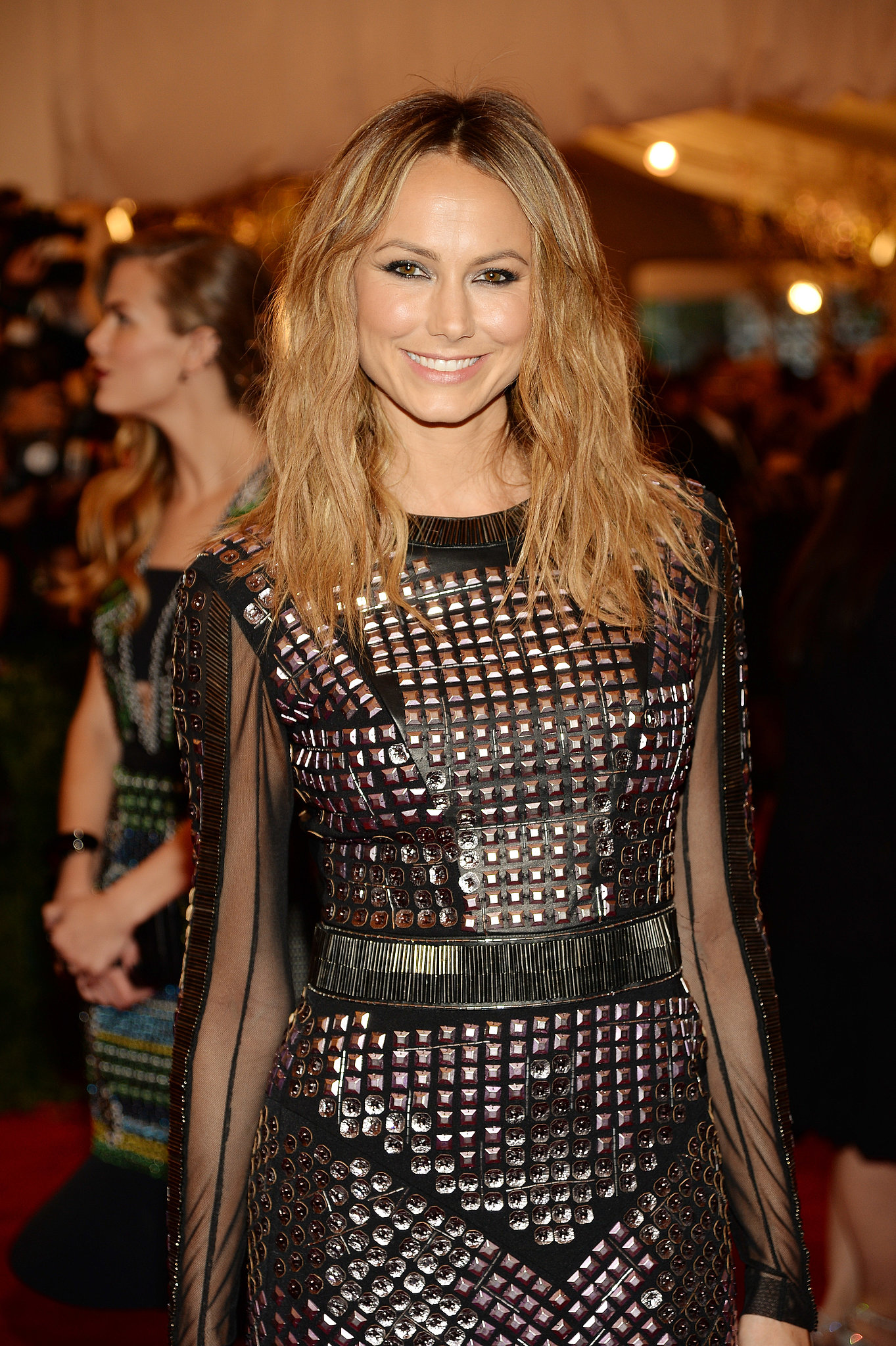 Beachy bedhead was a great look on Stacy Keibler at the Met Gala.