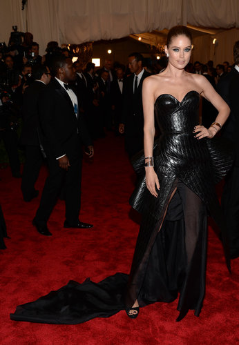 Doutzen Kroes at the Met Gala 2013.