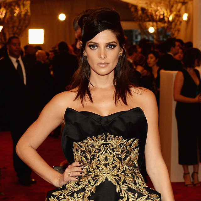 Ashley Greene Wears Marchesa to the 2013 Met Gala Ball