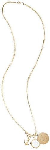 Three Charm Necklace