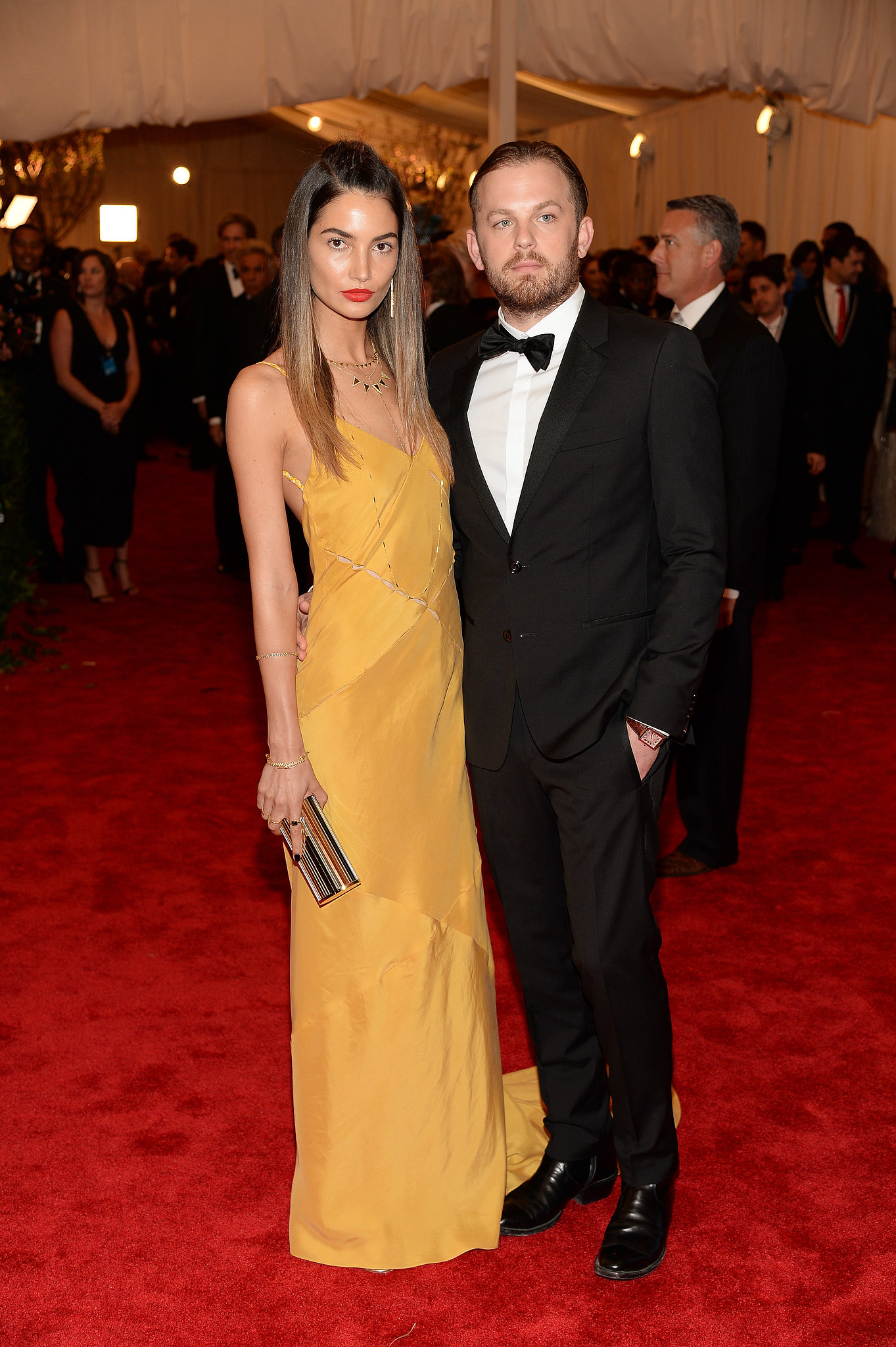 Lily Aldridge and Caleb Followill in 2013Lily Aldridge And Caleb Followill 2014