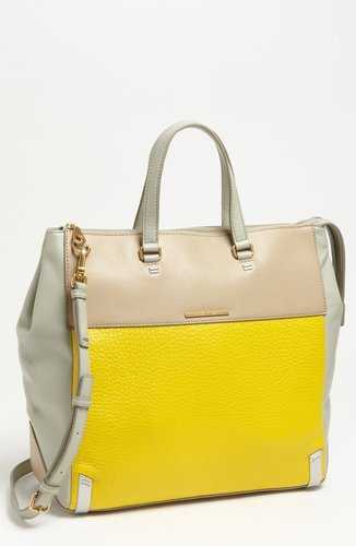 MARC BY MARC JACOBS 'Sheltered Island - Colorblock' Leather Tote, Extra Large