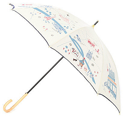 [GROVE]MAPプリントミニ傘