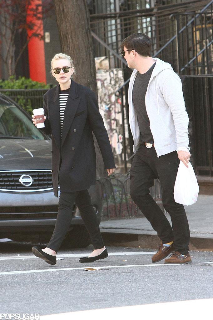 Carey Mulligan and Marcus Mumford strolled in NYC.