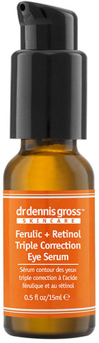 Dr. Dennis Gross Skincare Ferulic + Retinol Triple Correction Eye Serum 0.5 fl oz (15 ml)