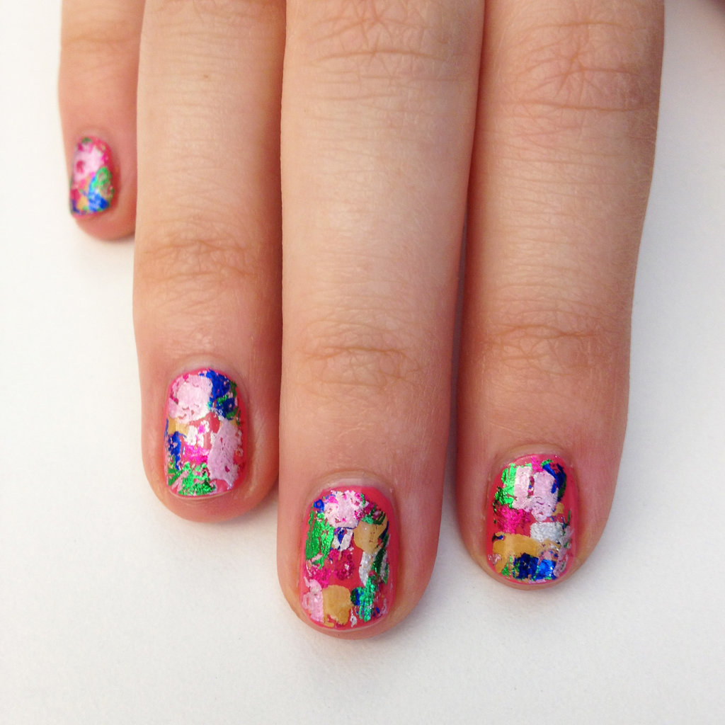How To Create A Colourful Foil Manicure