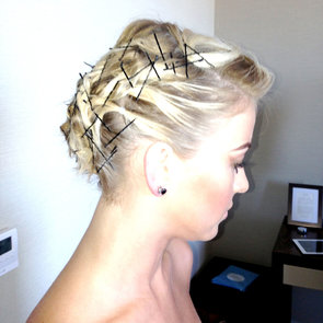 Julianne Hough Bobby Pin Hair | Met Gala 2013