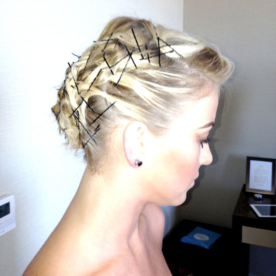 Julianne Hough Bobby Pin Hair | Met Gala 2013