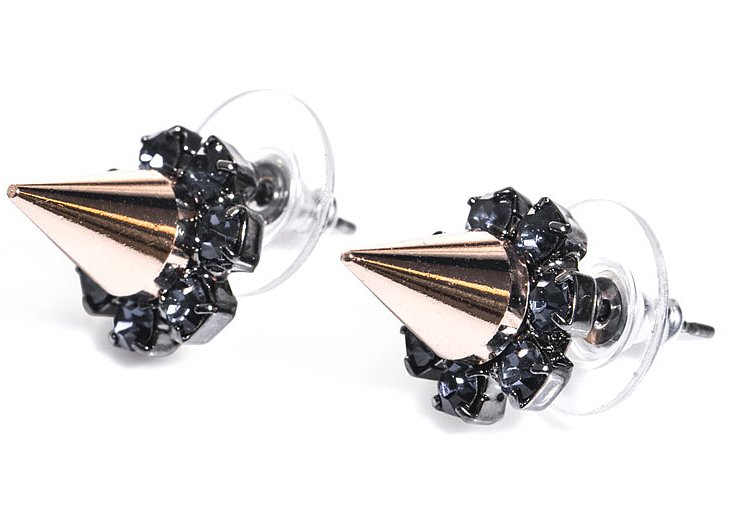 If you prefer stud earrings over drop styles, make these Joomi Lim Spike and Crystal Earrings ($101) your go-to pair. They'll add just enough shine to your everyday style.