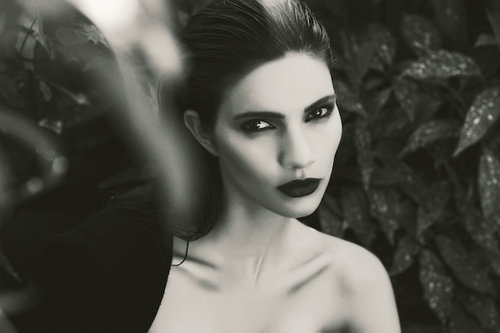 Sexy fashion model Theresa Moore