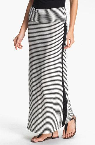 Everleigh Tuxedo Stripe Maxi Skirt