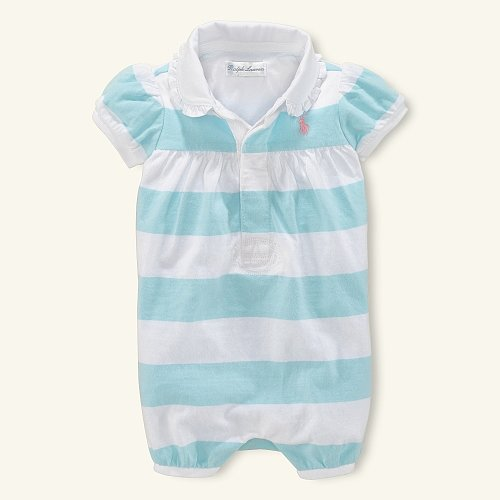 Rugby Striped Bubble Shortall