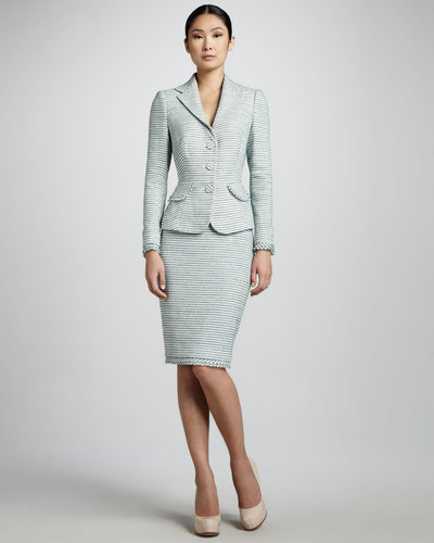 Kay Unger New York Textured Suit