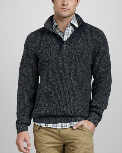 Lacoste Stretch-Cotton Sweater