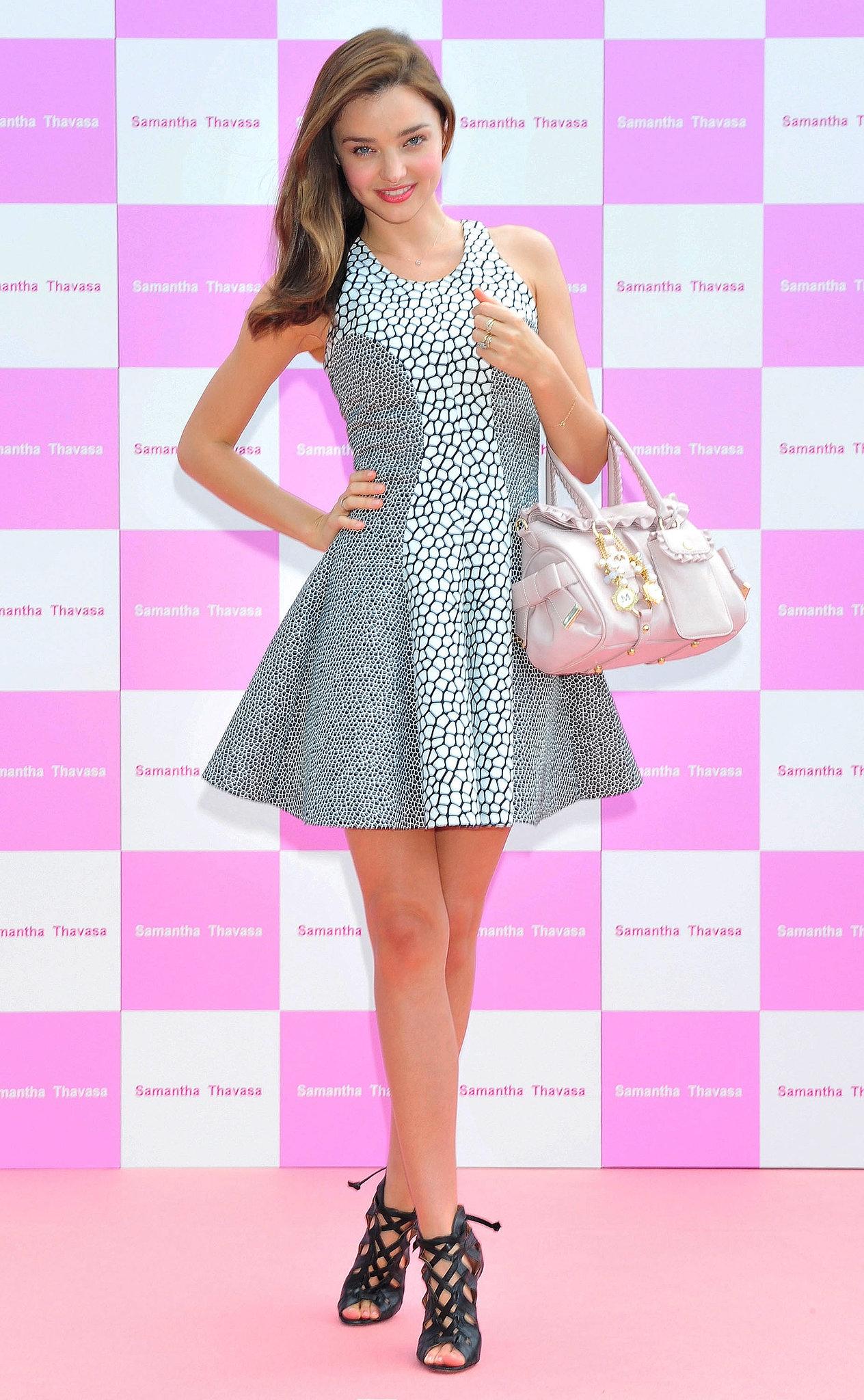 Miranda Kerr S Best Dresses Curves Ahead Miranda Kerr S
