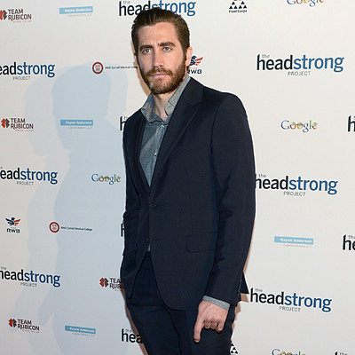 Jake Gyllenhaal at the Headstrong Project Event in NYC