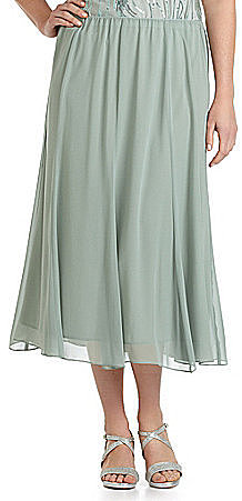 Alex Evenings Woman Chiffon Skirt