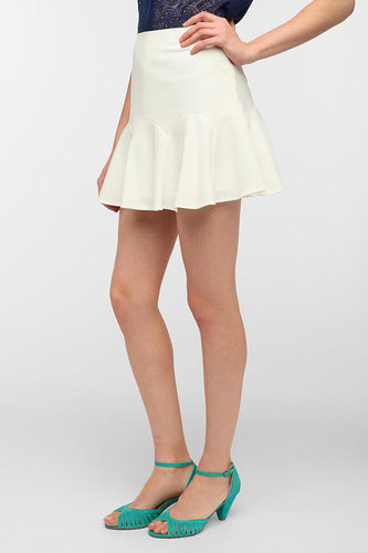 Pins And Needles Drop-Waist Godet Skirt