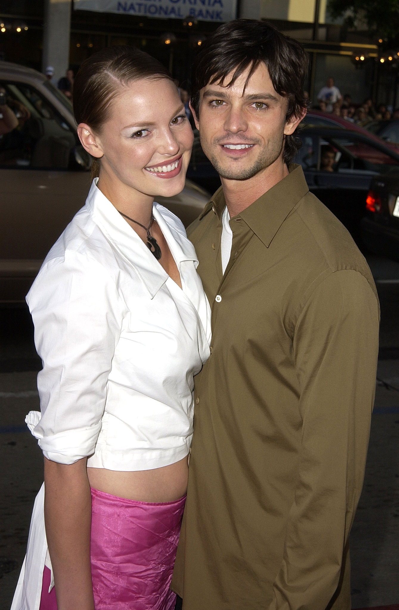 Jason Behr couple