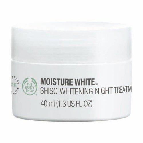 モイスチャーホワイト ホワイトニングナイトトリートメントEX(夜用美白クリーム)/ザ・ボディショップ(THE BODY SHOP)
