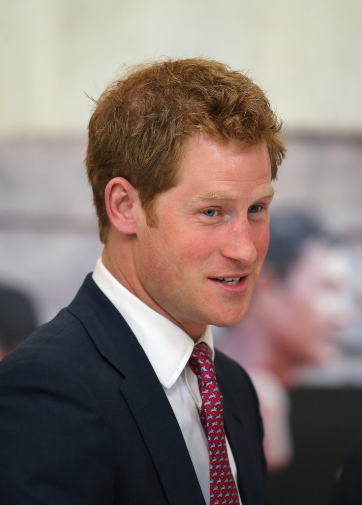 Prince Harry began his US tour on Thursday in DC.