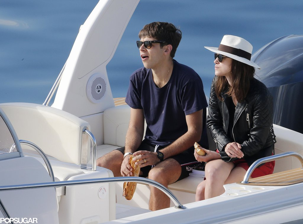 Keira Knightley and James Righton shared a baguette.