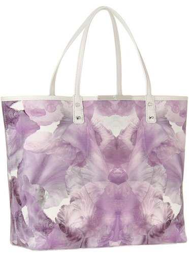 McQ - Medium Tote (Eggshell/Iris) - Bags and Luggage