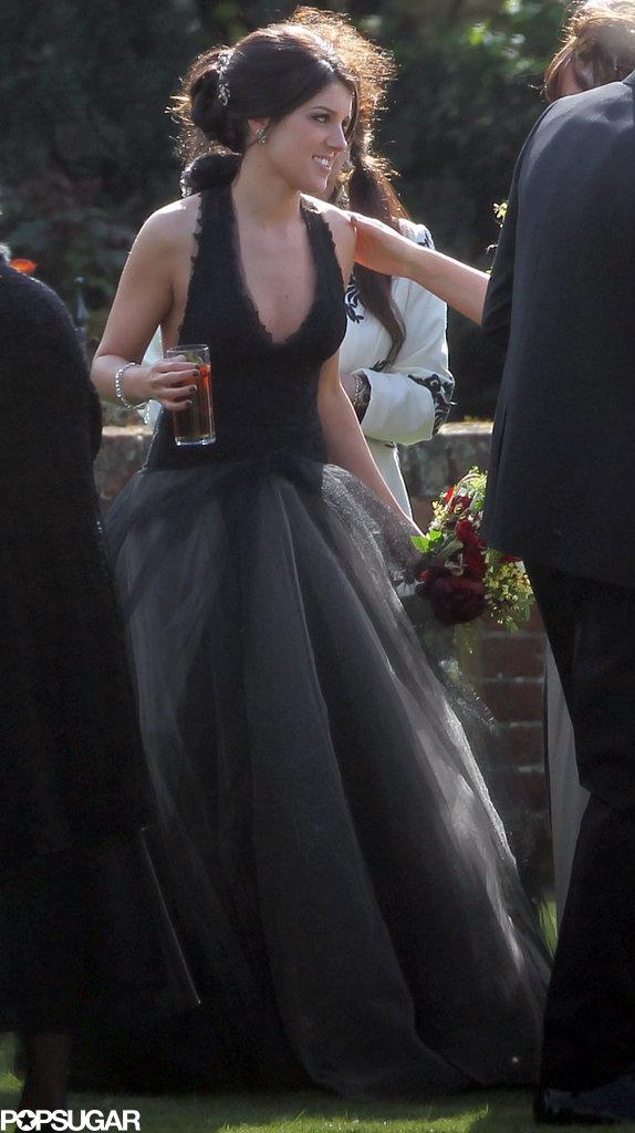 Shenae Grimes Marries — in a Black Dress!