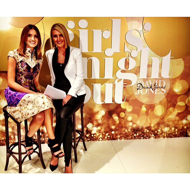 Kate Waterhouse teamed up with Style by Yellow Button's Claire Fabb to host the David Jones Girls' Night Out Fashion Parade during the week. Source: Instagram user katewaterhouse7