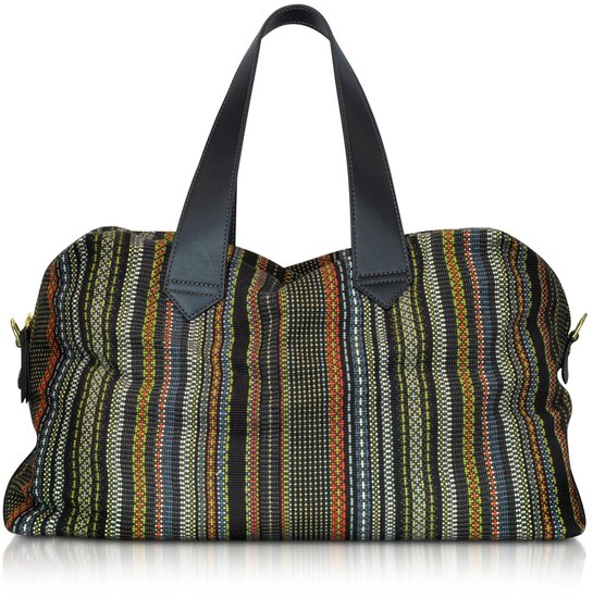 Paul Smith Black Maharam Stripe Holdall