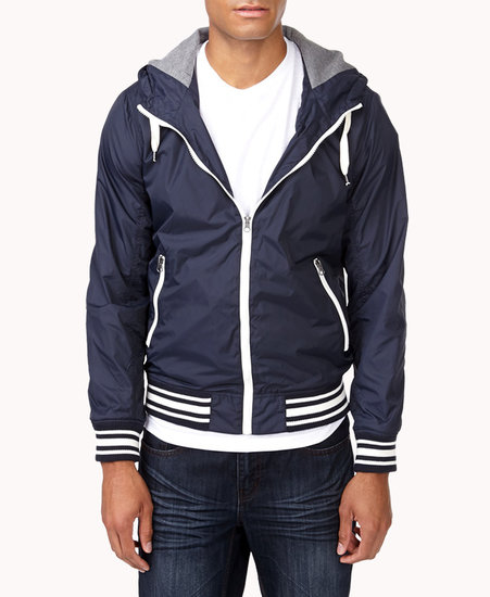 21 MEN Ripstop Athletic Jacket