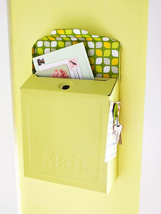 Украшение почтового ящика своими руками