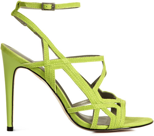 Grazia GEOMETRIC HIGH SANDALS